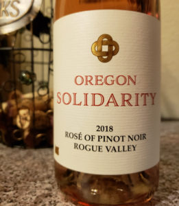 2018 Oregon Solidarity Rose of Piniot Noir