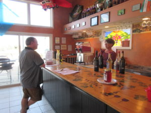 Kite Hill Vineyards Bar
