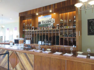 Alto Vineyard Tasting Bar